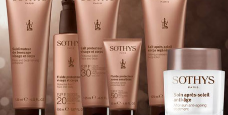 Gamme solaires Sothys